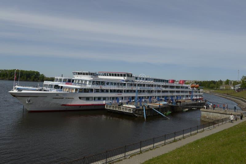 Uglich Άποψη από τον ποταμό του Βόλγα στοκ φωτογραφία με δικαίωμα ελεύθερης χρήσης