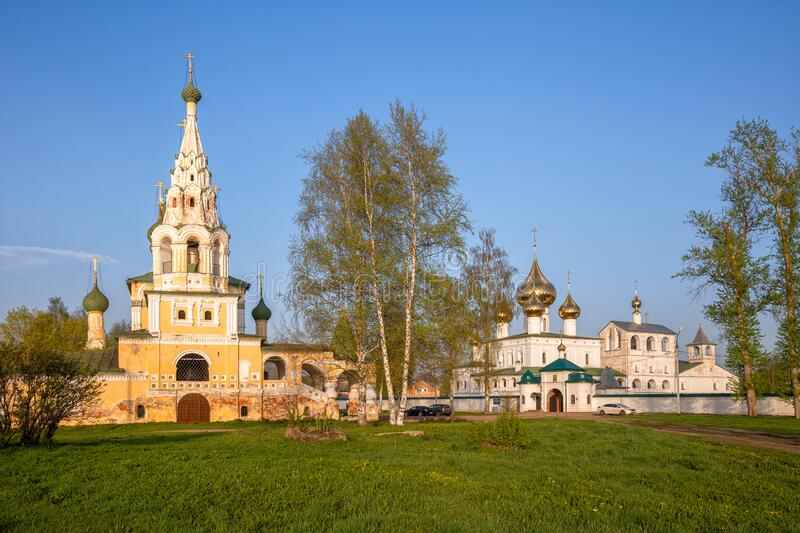 Uglich, an old Russian town royalty free stock image