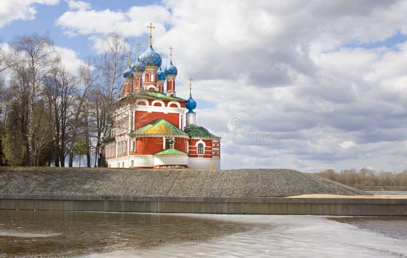 Uglich, Rosja obraz royalty free