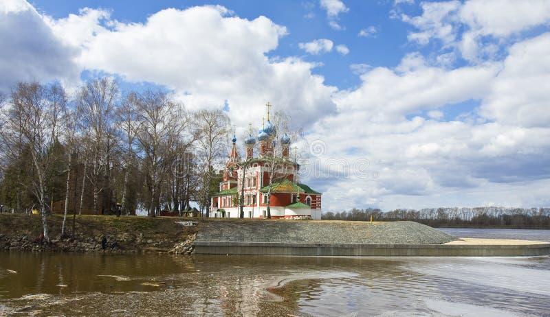 Uglich, Rusia imagenes de archivo
