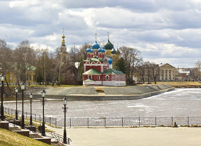 Uglich Ryssland royaltyfri fotografi