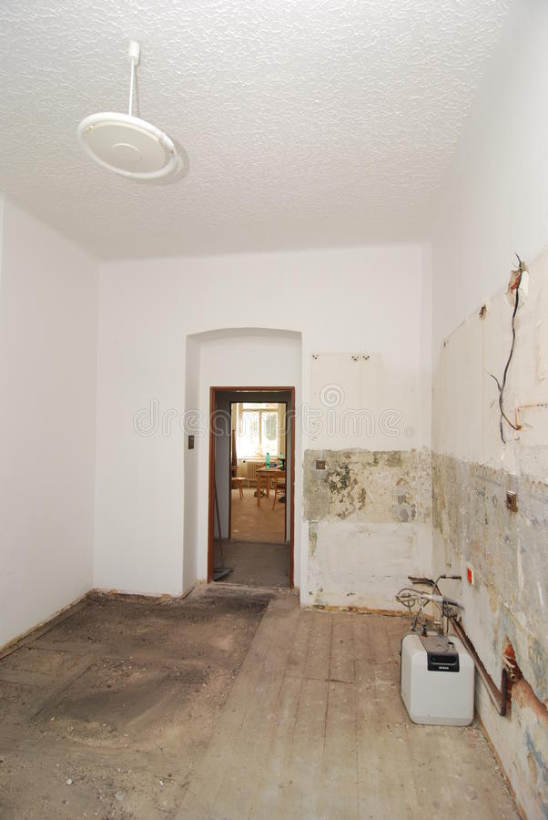 Download Ugly empty room stock image. Image of destroyed, interior - 28980077