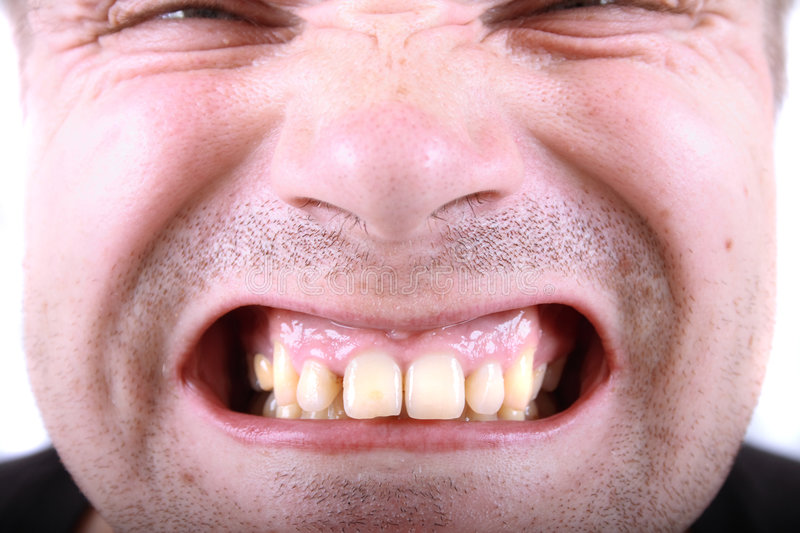 Download Ugly face of scary man stock image. Image of scaring, stress - 9184773