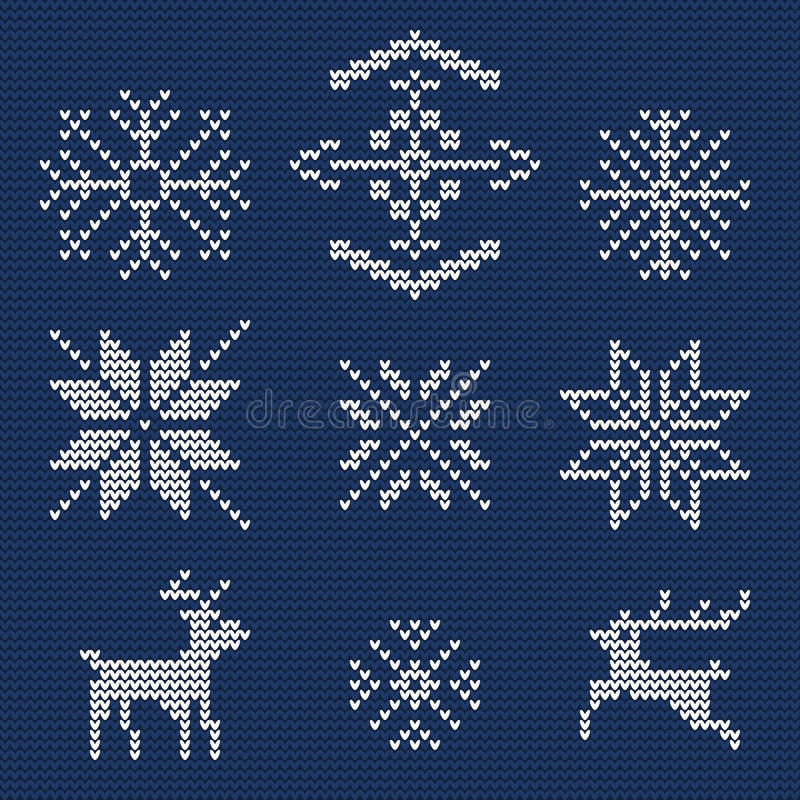 Ugly sweater Background 1 stock illustration