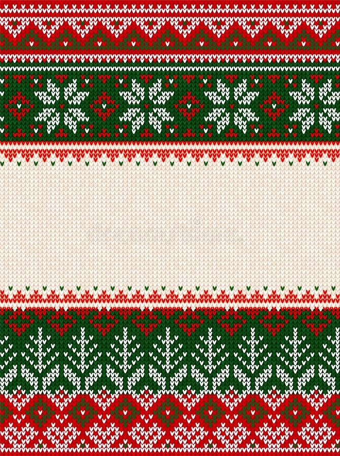 Free Ugly Sweater Merry Christmas Party Ornament Background Seamless Pattern Royalty Free Stock Photos - 150389788