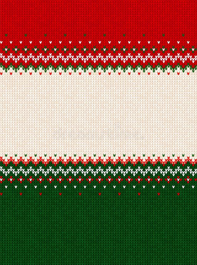 Free Ugly Sweater Merry Christmas Party Ornament Background Seamless Pattern Royalty Free Stock Photography - 160812647
