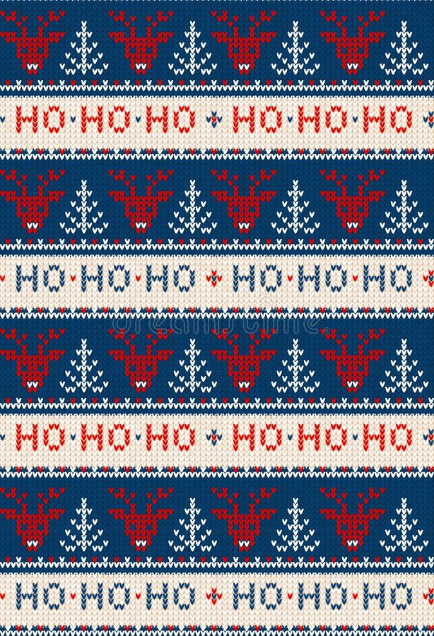 Free Ugly Sweater Merry Christmas Party Ornament Background Seamless Pattern Royalty Free Stock Photo - 192795935
