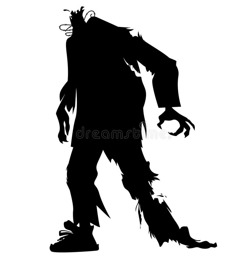 Free Ugly Zombie Vector Royalty Free Stock Images - 78350189
