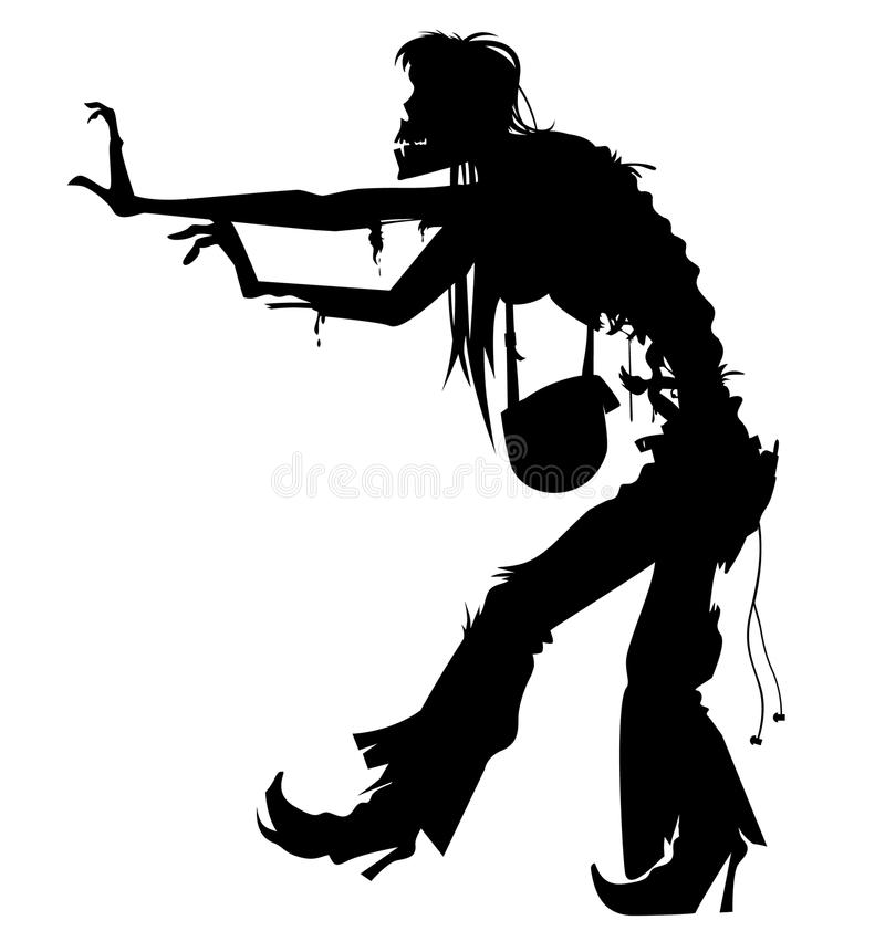Free Ugly Zombie Vector Royalty Free Stock Image - 78350206