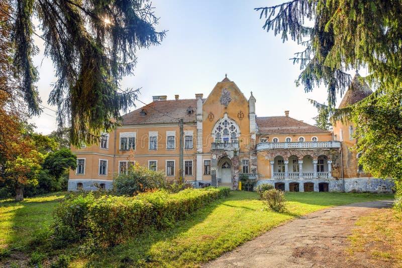 Ugron Castle, Romania stock image