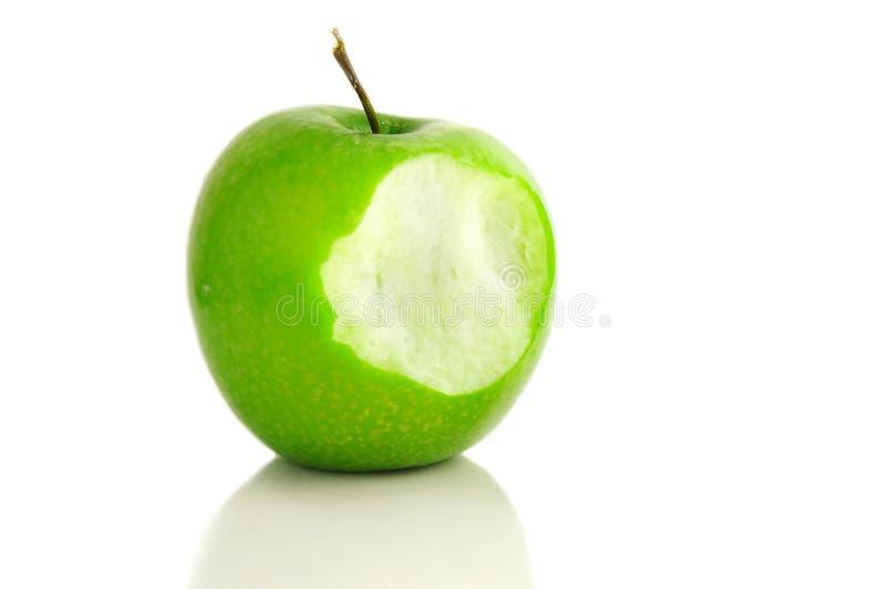ugryzienie jabłkowego fotografia stock