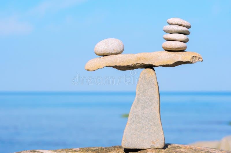 Uguaglianza delle pietre fotografia stock libera da diritti