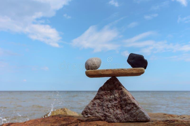 Uguaglianza delle pietre fotografie stock libere da diritti