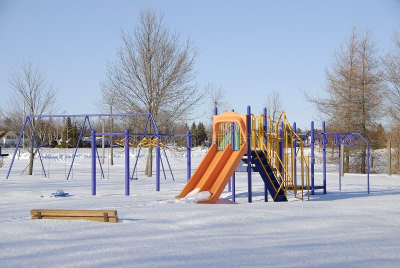 Ugualmente freddo per i bambini fotografie stock