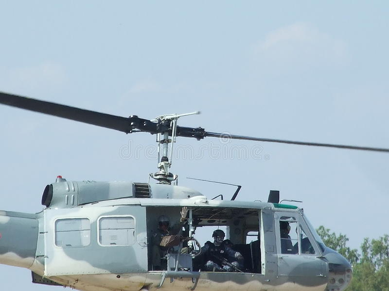 UH-1H 免版税库存照片