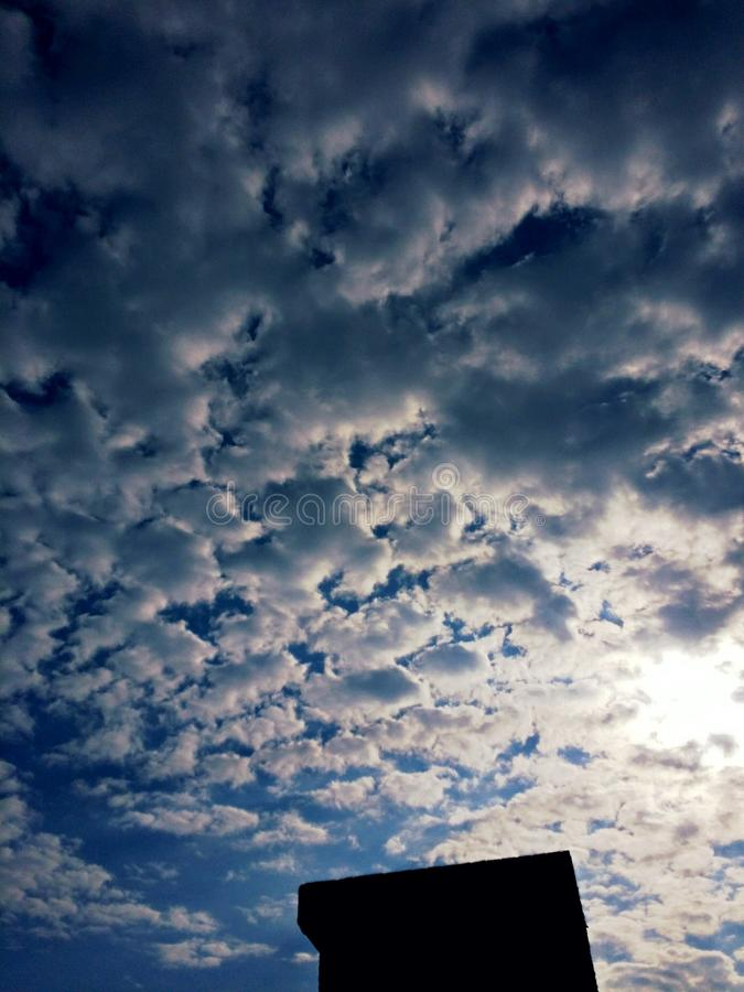 UHD SKY BACKGROUND royalty free stock images