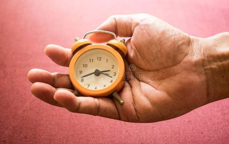 Uhr des Lebens im hohen Alter stockfotografie