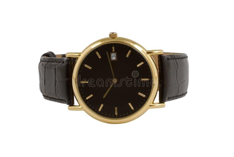 Uhr des Mannes stockfoto