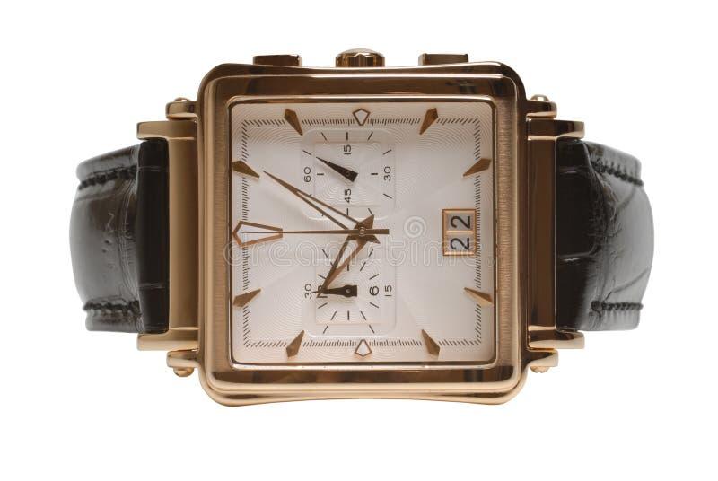 Uhr des Mannes lizenzfreies stockfoto