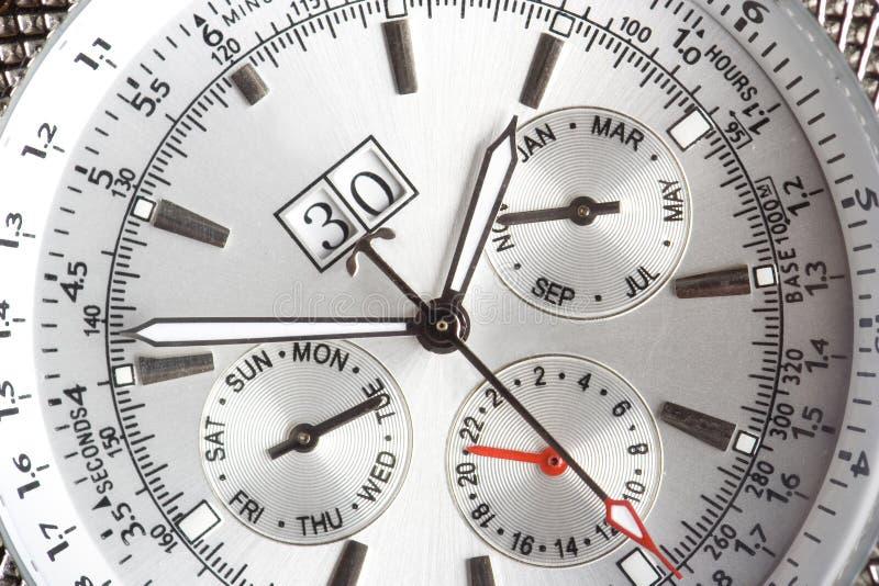 Uhr-nahes hohes stockfoto