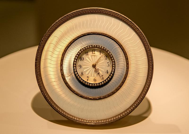 Uhr vom Anfang des 20. Jahrhunderts stockfoto