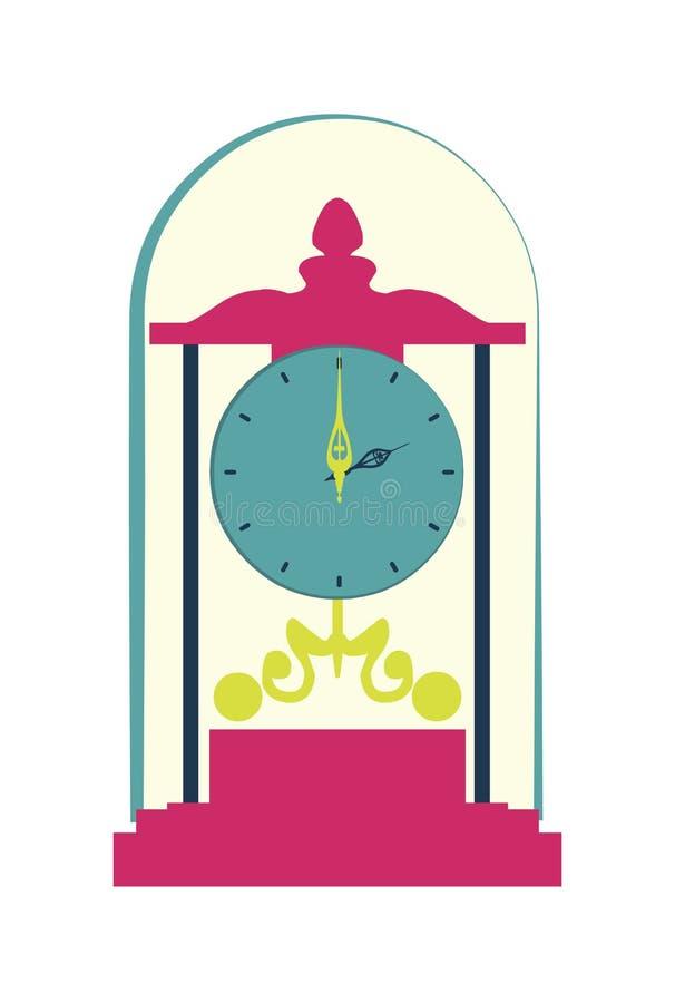 Uhrdesign lizenzfreie abbildung