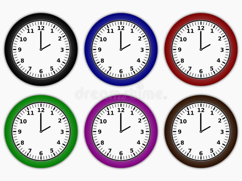 Uhren lizenzfreie abbildung
