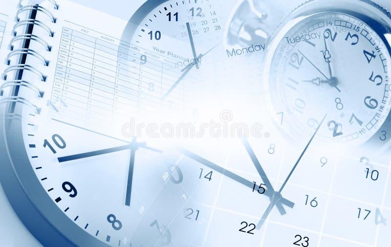 Uhren und Kalender lizenzfreie stockfotografie