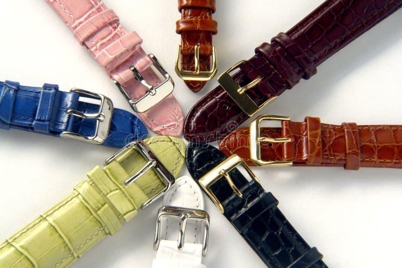 Uhrenarmband lizenzfreie stockbilder