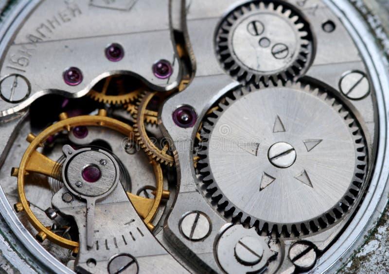Uhrwerk lizenzfreie stockfotografie