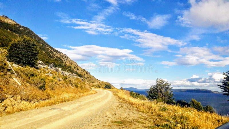 Uhsuaia, Tierra del Fuego, Argentina imagens de stock royalty free