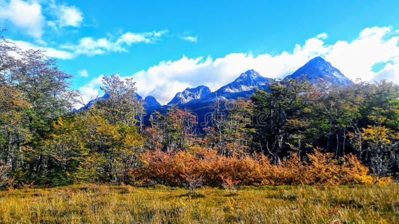 Uhsuaia, Tierra del Fuego, Argentinien lizenzfreies stockfoto