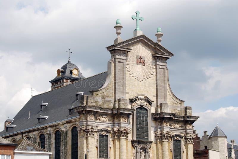 Uilding storico in Mechelen fotografie stock