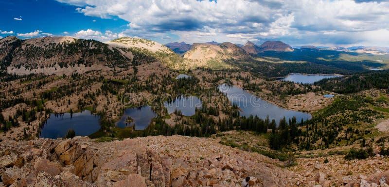 Uinta mountain lakes royalty free stock photo