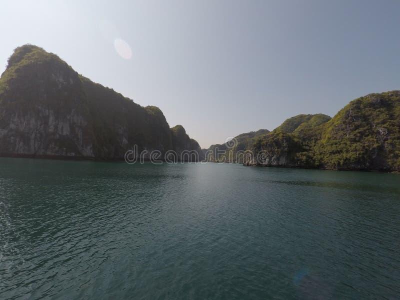 Uit het schip in vietnam stock foto's