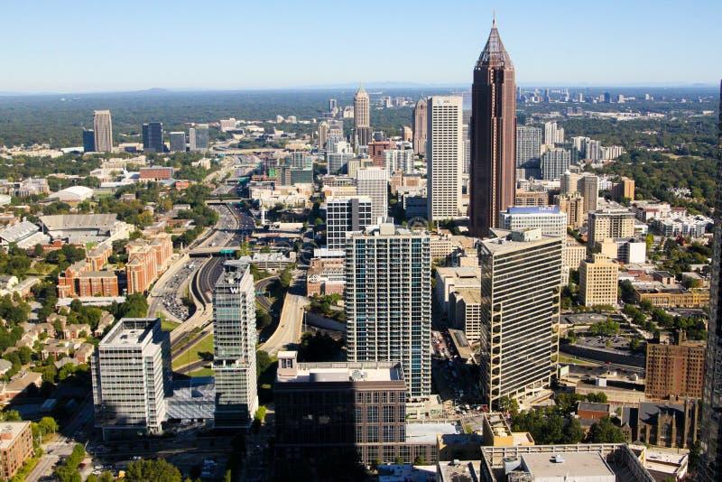 Uit het stadscentrum Atlanta royalty-vrije stock afbeelding