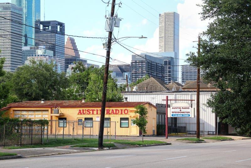 Uit het stadscentrum Houston, Texas royalty-vrije stock foto