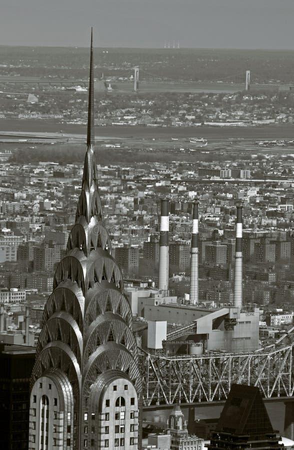 Uit het stadscentrum Manhattan royalty-vrije stock foto's