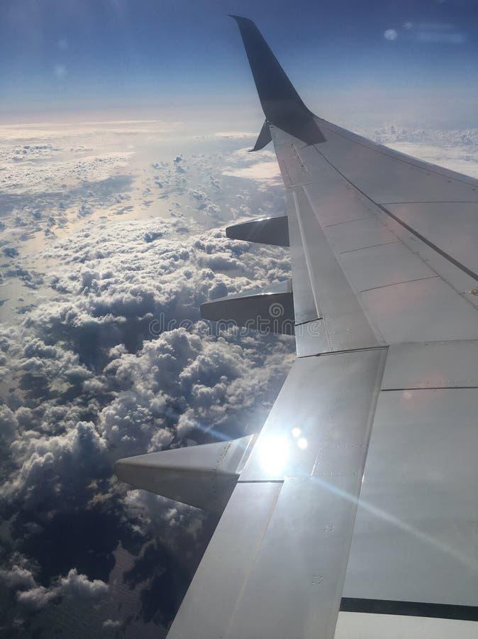Uit het venster stock fotografie