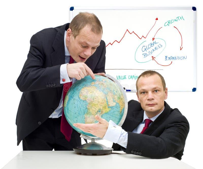 Uitbreidende markten globaal stock foto's