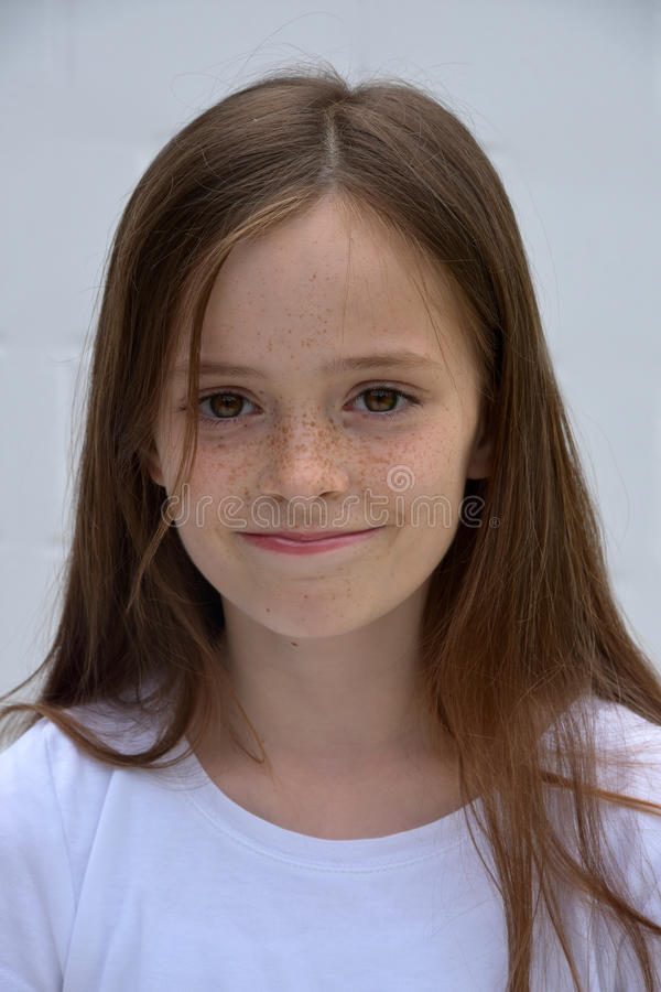 Uitdagend tienermeisje royalty-vrije stock fotografie