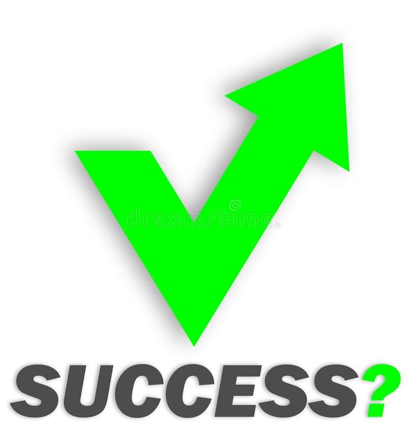 Uiteindelijk van succes vector illustratie