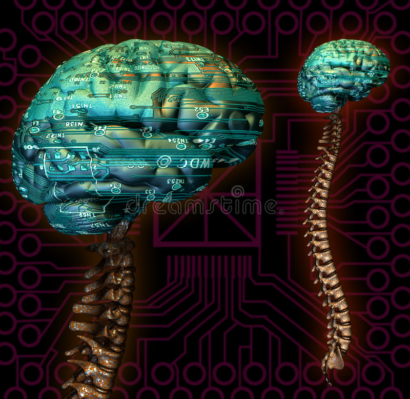 Uiteindelijke Computer vector illustratie