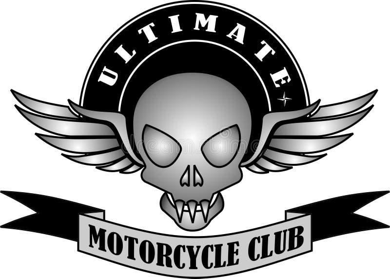 UITEINDELIJKE MOTORFIETSclub stock afbeelding