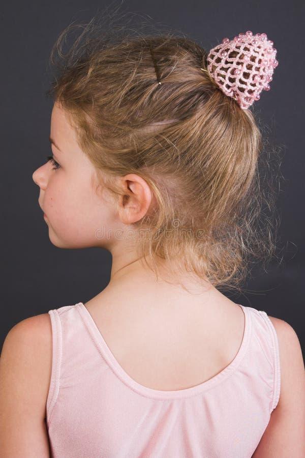 Uiterst kleine Ballerina royalty-vrije stock afbeelding