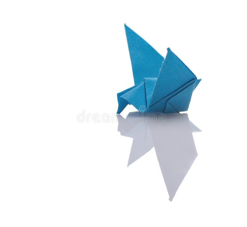 Uiterst kleine origami stock foto