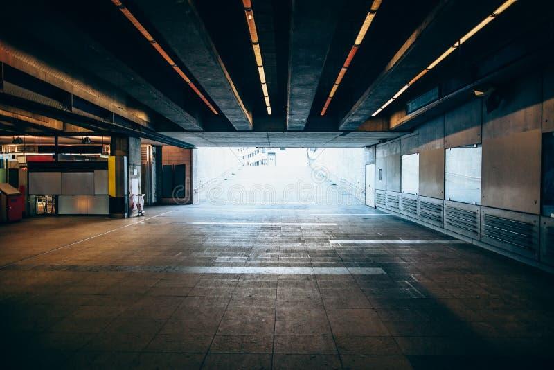Uitgang van ondergronds royalty-vrije stock afbeelding