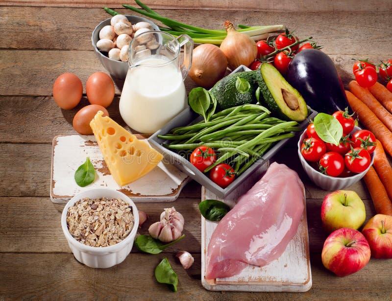 Uitgebalanceerd dieet royalty-vrije stock afbeeldingen