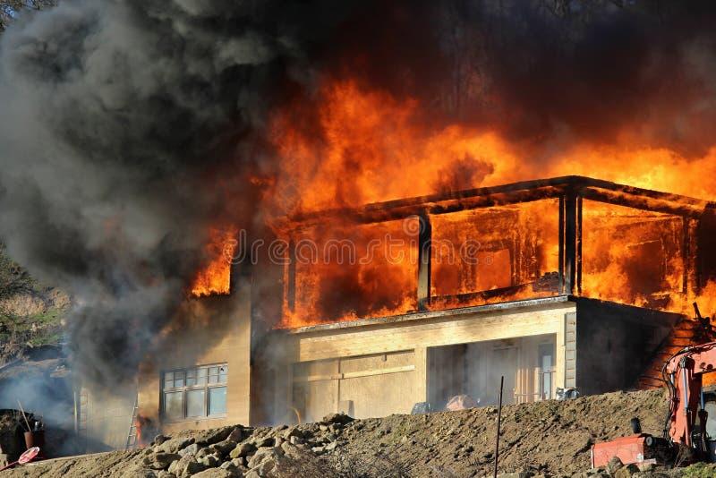 Uitgebreide brand stock fotografie