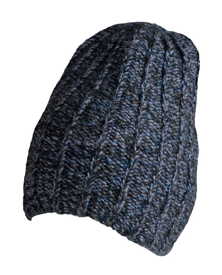 Uitgebreide hoed geïsoleerd op een witte achtergrond stijlvolle hoed modeaccessoires voor een kleine stijl stock afbeelding